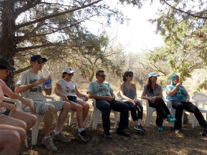 Experiencia grupal en Capilla del Monte con el Sr. Dante Franch.